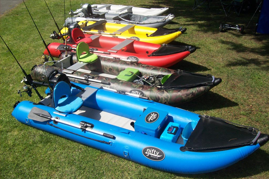 NiftyBoats - Great alternative to a fishing kayak.